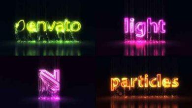 Light Particle Logo After Effects Free Preset Picgiraffe.com 554