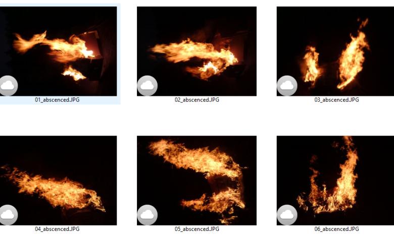 Fire Abscenced Overlay Effect Picgiraffe.com 450