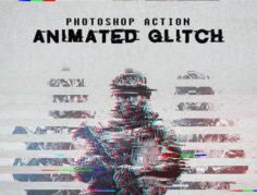 Glitch Photoshop Action (2) Picgiraffe.com 189
