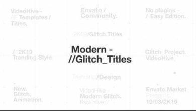 Hyundai Glitch Titles After Effects Free Preset Picgiraffe.com 21