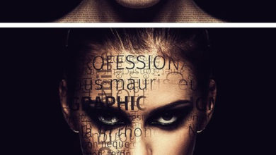 Typography 5in1 Photoshop Actions Bundle Picgiraffe.com 410