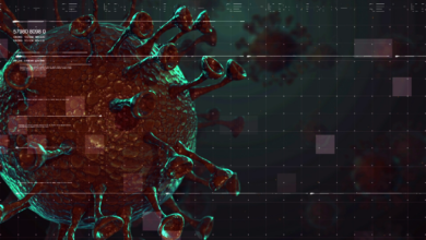 Photo of Corona virus COVID 19 animated Video HD 4K background