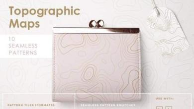 Topographic Maps Patterns Picgiraffe.com 543