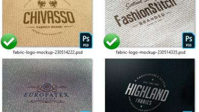Elements Impressive Fabric Logo Mockup 230514222 Picgiraffe.com 559