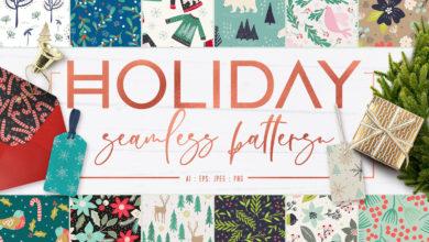 Holiday Seamless Patterns 2917957 Picgiraffe.com 549