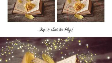 Magic Dust 2 Photoshop Action Free Download Picgiraffe.com