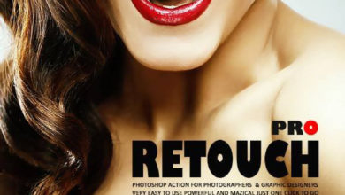 Pro Retouch Photoshop Action 20741906 Free Download Picgiraffe.com