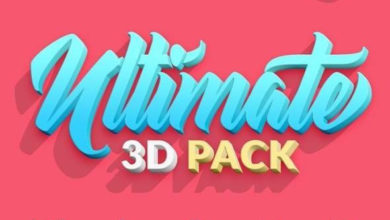 Ultimate 3D Pack Picgiraffe.com