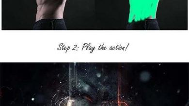 Fury Photoshop Action 9696278 Free Download Picgiraffe.com