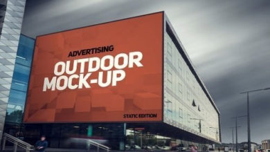 Photo of Animated Outdoor Advertising Mockups free download