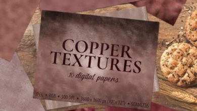 Copper Foil Textures 10 Digital 1730090 Free Download Picgiraffe.com