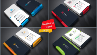 Free Download Business Card PSD Templates Free Download Picgiraffe.com