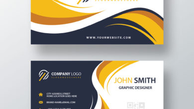 Graphic Designer Business Card PSD Collection V1 Free Download Picgiraffe.com