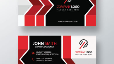 Graphic Designer Business Card PSD Collection V9 Free Download Picgiraffe.com