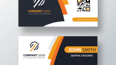 Graphic Designer Elegant Business Card PSD Collection V7 Free Download Picgiraffe.com