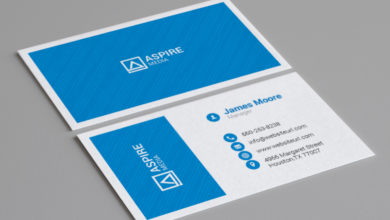 Media Company Business Card Template Free Download Picgiraffe.com