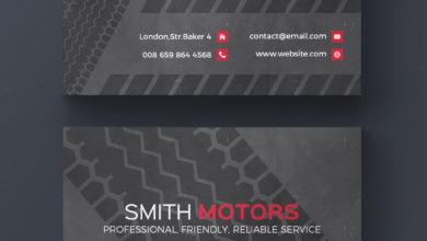 Motors Business Card PSD Collection V10 Free Download Picgiraffe.com