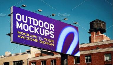Outdoor Advertising Mockups Free Download Picgiraffe.com