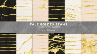 Photo of Pale Golden Seams Collection Free Download