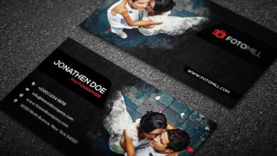 Photography Business Card Template Free Download Picgiraffe.com 2