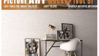 Photo of Picture Art Mockup Vol 5 12706656 free download
