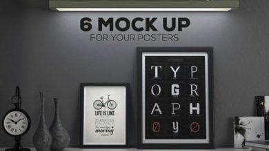 Photo of Poster Frame Mockup Set free download