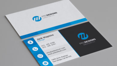 Pro Design Business Card Template Free Download Picgiraffe.com