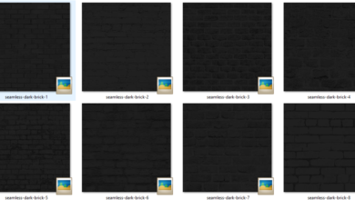 Photo of Seamless Dark Brick Textures Free Download