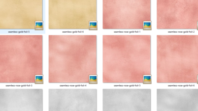 Photo of Seamless Foil Textures & Layer Style Free Download