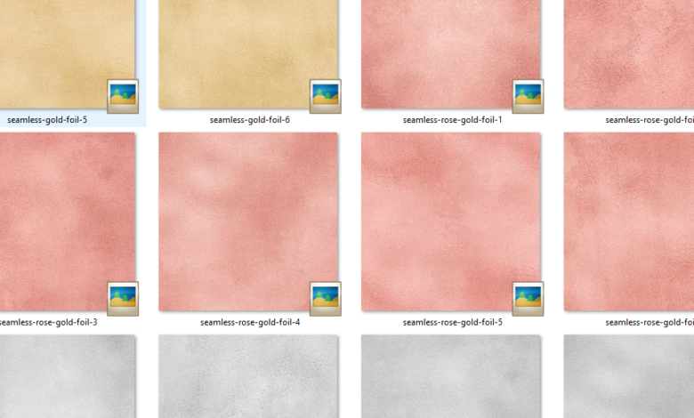 Seamless Foil Textures Layer Style Free Download Picgiraffe.com