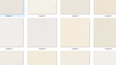 Photo of Seamless Rice Paper Textures Free Download