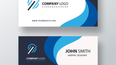 Slogan Business Card PSD Collection V4 Free Download Picgiraffe.com