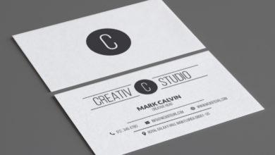 Studio Business Card Template Free Download Picgiraffe.com