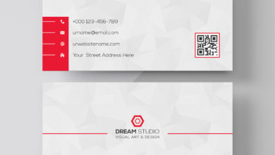 Studio Visual Art And Design Business Card Template Free Download Picgiraffe.com