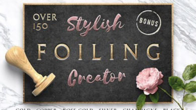Photo of Stylish Foiling Creator Stamping & Embossing Free Download