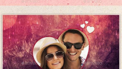 Photo of Valentine Photo Frame Template 10031517 free download