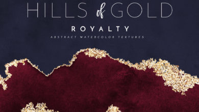 Photo of Watercolor Texture Gold Foil  HoG Royalty 2519361 Free Download