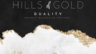 Photo of Watercolor Texture Gold Foil HoG 2519361 Free Download