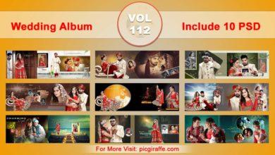 Photo of Wedding Album Design Psd Templates 12×36 VOL 112 Free download