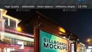 Billboards Mockups At Night Vol1 18832876 Free Download Picgiraffe.com