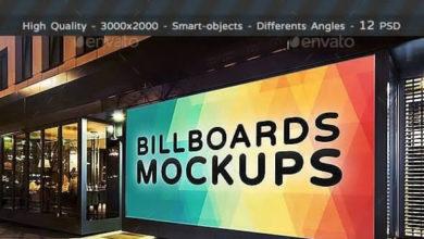 Billboards Mockups At Night Vol2 18833022 Free Download Picgiraffe.com