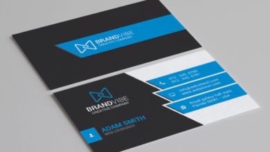 Corporate Company Business Card Template Free Download Picgiraffe.com