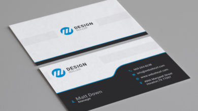 Creative Media Designer Business Card Template Free Download Picgiraffe.com