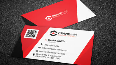 Photo of Corporate business card template Free Download