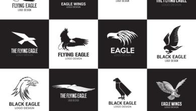 Eagle Logo Design Pack Preview Free Download Picgiraffe.com