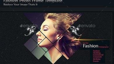 Photo of fashion photo frame template 10683145