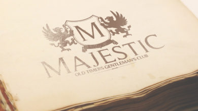 Old Book Royal Style Premium Logo Mockup Template Free Download Picgiraffe.com