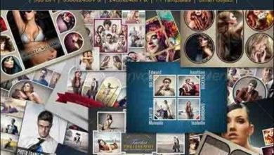 Photo of photo frame templates bundle v2 8004896 free download