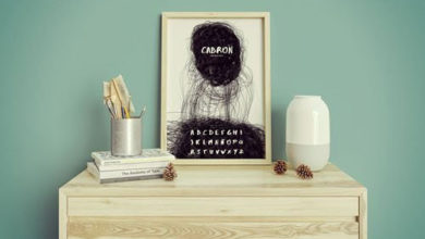 Photo of picture frame mockup set free download