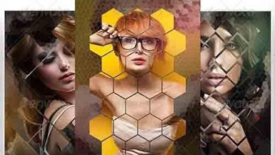 Photo of pixel poly art photo template 8353782 free download